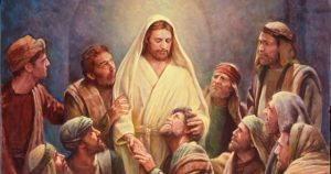 Christ and the Apostles, by Del Parson