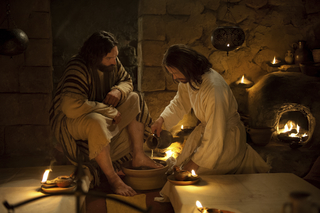 last supper jesus washes peters feet Confidence in God- Not in yourself, 3 ways to build God Confidence