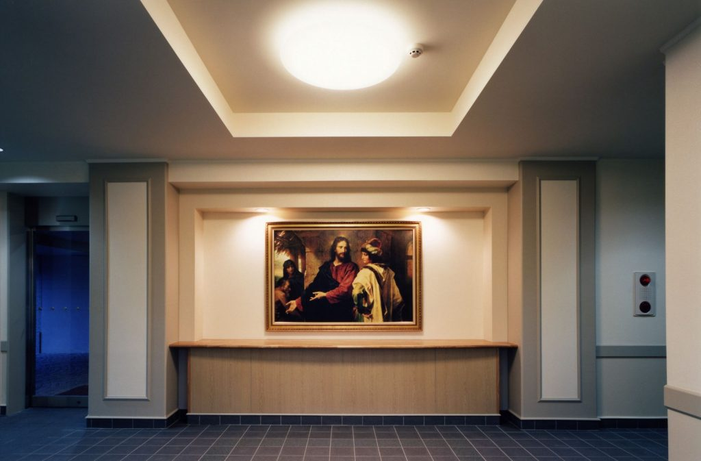matsudo lds meetinghouse foyer How to Give a Talk in Sacrament Meeting