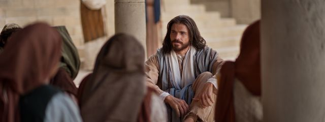 jesus teaching crowd bible videos Letting your faith show in the workplace